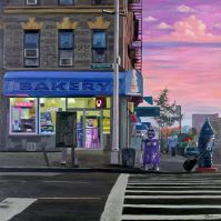 Eric Joyner: Tarsus Bondon Dot. Daybreak. Photo Courtesy of Cory Helford Gallery.
