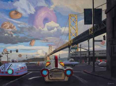 Eric Joyner: Tarsus Bondon Dot. The Emperor Norton Bridge. Photo Courtesy of Cory Helford Gallery.