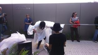Friday collaborative performance. Photo Credit Tomoko Tanuma.