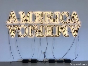 Glenn Ligon. The Marciano Art Foundation. Photo Credit Stephen Levey.