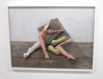 Heather Rasmussen - Untitled (Legs and mirror #2). ACME Gallery. Photo Credit Patrick Quinn.