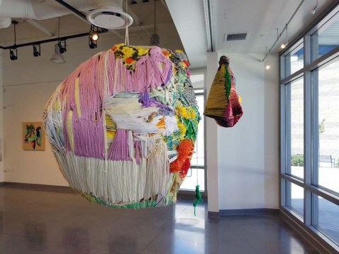 Julia Couzens. The Only Way Out Is In. Citrus College Art Gallery. Photo Credit Jackie Bell Johnson