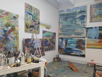 Laura Myntti. Claremont Graduate University MFA Open Studios. Photo Credit Jacqueline Bell Johnson.