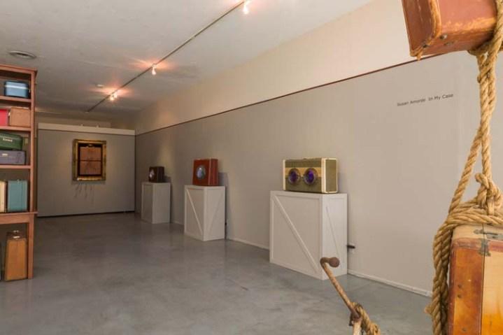 Susan Amorde. In My Case. Gallery 825. Photo Credit Yosi Pozeilov.