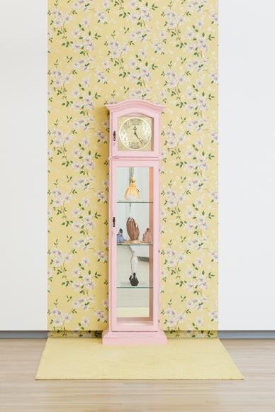 The Golden Hour. Genevieve Gaignard. The Powder Room. Photo Courtesy of Shulamit Nazarian Gallery.