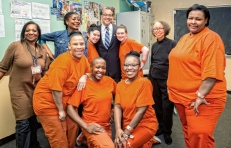 San Quentin Women. Photo Courtesy of California Lawyers for the Arts.