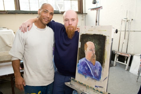 Painting Class. Photo Courtesy of California Lawyers for the Arts.