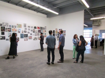 Tomory Dodge - Selected Works, East Wall 2. ACME Gallery. Photo Credit Patrick Quinn.