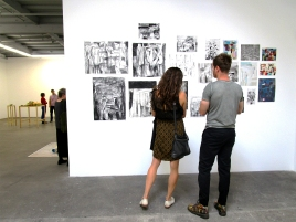Tomory Dodge - Selected Works, North Wall. ACME Gallery. Photo Credit Patrick Quinn.