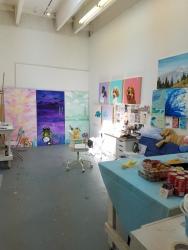 Yin Xinjie. Claremont Graduate University MFA Open Studios. Photo Credit Jacqueline Bell Johnson.