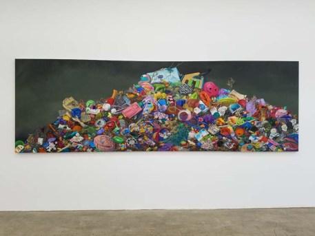 Constance Mallinson. Unmade. Jason Vass Gallery. Photo Credit Kristine Schomaker.