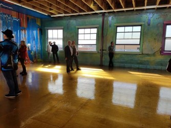 KuBO. WALLS: The Quest For Immersive Space. Produce Haus. Photo Credit Jacqueline Bell Johnson.