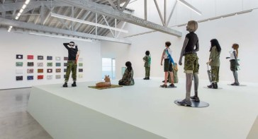 Mai-Thu Perret, Féminaire, May 19 – July 1, 2017, David Kordansky Gallery, Los Angeles, CA, Installation view. Photo Courtesy of David Kordansky Gallery.