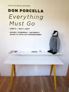 Don Procella. Everything Must Go. Noysky Projects. Photo Credit Patrick Quinn.