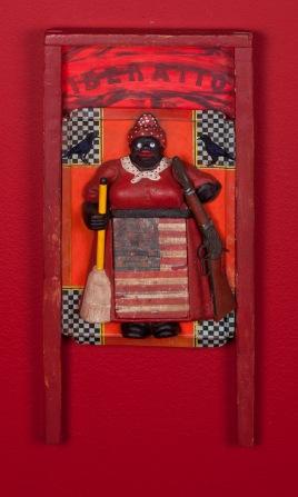 Betye Saar: Keeping it Clean. Craft and Folk Art Museum. Betye Saar, 2015. Museum De Domijnen, Sittard, NL. Courtesy of the artist and Roberts & Tilton, Los Angeles, CA.