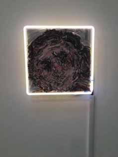 Can You See Me. Vanessa Prager: Ultraviolet. Richard Heller Gallery, Santa Monica, CA. Photo Credit Amy Kaeser.