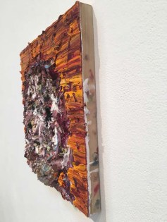 Never Let It Go. Vanessa Prager: Ultraviolet. Richard Heller Gallery, Santa Monica, CA. Photo Credit Amy Kaeser.