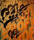 Chaz Bojorquez. Why Art Matters! Photo Courtesy of Torrance Art Museum.