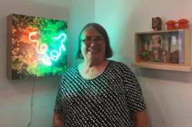Linda Sue Price. It's A Wonderful World. Groundspace Project. Photo Credit Genie Davis.