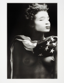 Harris Lyle. Face to Face: Los Angeles Collects Portraiture. Photo Courtesy of the California African American Museum.