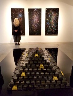 Kysa Johnson-As Above, So Below at Von Lintel Gallery. Photo Credit Kristine Schomaker.