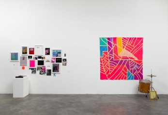 """Black is a color"" at Charlie James Gallery. Photo Courtesy of the Gallery."