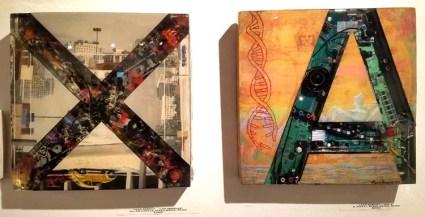 Leah Knecht. Cratedigger 2. Gabba Gallery. Photo Credit Kristine Schomaker.
