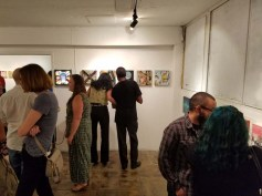 Cratedigger 2. Gabba Gallery. Photo Credit Kristine Schomaker.