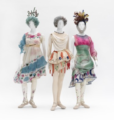 Marc Chagall, Costumes for Daphnis and Chloe: Shepherdesses, 1959, Paris, Opéra national, © 2017 Artists Rights Society (ARS), New York/ADAGP, Paris, photo © 2017 Museum Associates/LACMA