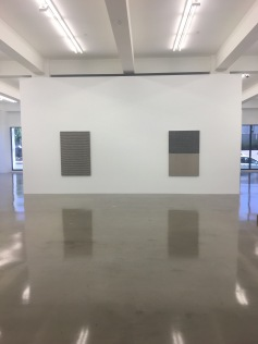 Analia Saban: Faults and Folds. Sprüth Magers, Los Angeles. Photo Credit Amy Kaeser.