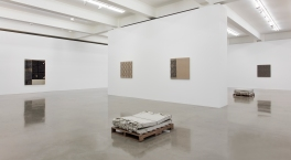 Analia Saban: Faults and Folds. Sprüth Magers, Los Angeles. Photo Courtesy of the Gallery.