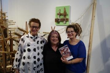 Betty Brown, Susan Joseph and Susan Feldman. Photo Courtesy Betty Ann Brown