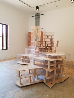 "Cesar Cornejo. California-Pacific Triennial, ""Building as Ever,"" curated by Cassandra Coblentz, at the Orange County Museum of Art, Newport Beach, California. Photo Credit Kristine Schomaker."