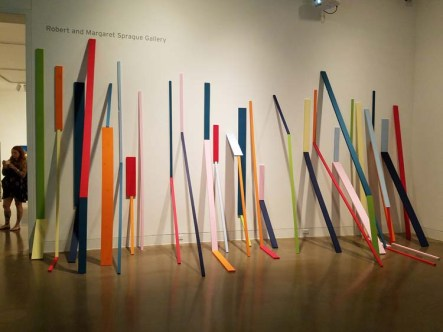 """Cybele Lyle. California-Pacific Triennial, """"Building as Ever,"""" curated by Cassandra Coblentz, at the Orange County Museum of Art, Newport Beach, California. Photo Credit Kristine Schomaker."""