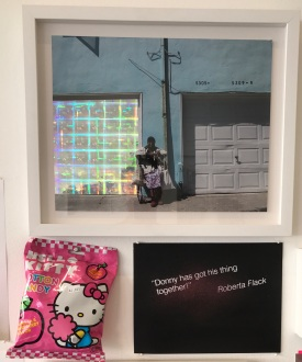 """Black is a color"" at Charlie James Gallery. Photo Credit Kristine Schomaker."