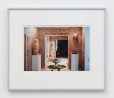 "William E. Jones ""Villa Iolas (Antiquities, Silver Bowl),"" 1982/2017 hand-coated inkjet print 16 x 20 inches (40.6 x 50.8 cm) framed: 20 x 24 x 1 1/2 inches (50.8 x 61 x 3.8 cm) Edition of 6 with 2 AP Photography: Lee Thompson Courtesy of David Kordansky Gallery, Los Angeles, CA and The Modern Institute, Glasgow, Scotland"