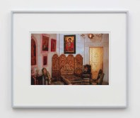 "William E. Jones ""Villa Iolas (Byzantine Icons, Gold Door),"" 1982/2017 hand-coated inkjet print 16 x 20 inches (40.6 x 50.8 cm) framed: 20 x 24 x 1 1/2 inches (50.8 x 61 x 3.8 cm) Edition of 6 with 2 AP Photography: Lee Thompson Courtesy of David Kordansky Gallery, Los Angeles, CA and The Modern Institute, Glasgow, Scotland"
