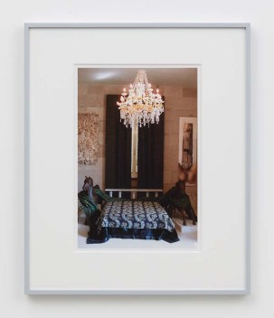 "William E. Jones ""Villa Iolas (Iolas's Bedroom),"" 1982/2017 hand-coated inkjet print 20 x 16 inches (50.8 x 40.6 cm) framed: 24 x 20 x 1 1/2 inches (61 x 50.8 x 3.8 cm) Edition of 6 with 2 AP Photography: Lee Thompson Courtesy of David Kordansky Gallery, Los Angeles, CA and The Modern Institute, Glasgow, Scotland"
