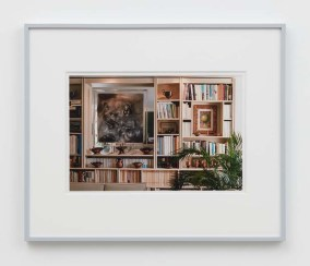 "William E. Jones ""Villa Iolas (Matta, René Magritte, Greek Vases),"" 1982/2017 hand-coated inkjet print 16 x 20 inches (40.6 x 50.8 cm) framed: 20 x 24 x 1 1/2 inches (50.8 x 61 x 3.8 cm) Edition of 6 with 2 AP Photography: Lee Thompson Courtesy of David Kordansky Gallery, Los Angeles, CA and The Modern Institute, Glasgow, Scotland"