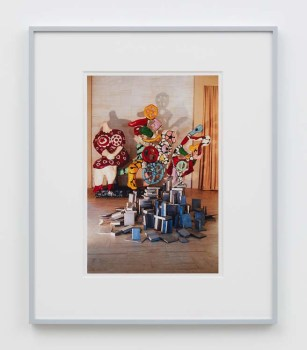 "William E. Jones ""Villa Iolas (Niki de Saint Phalle, Paul Thek),"" 1982/2017 hand-coated inkjet print 20 x 16 inches (50.8 x 40.6 cm) framed: 24 x 20 x 1 1/2 inches (61 x 50.8 x 3.8 cm) Edition of 6 with 2 AP Photography: Lee Thompson Courtesy of David Kordansky Gallery, Los Angeles, CA and The Modern Institute, Glasgow, Scotland"