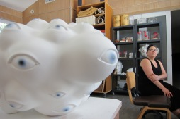 Tanya Batura. Studio visit by Gary Brewer. Photo Credit Gary Brewer