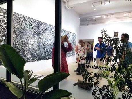 Cathy Ward –Phantasmata. The Good Luck Gallery. Photo Cretdit Kristine Schomaker.