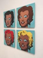 Linda Vallejo. Keepin' it Brown. Photo Courtesy of bG Gallery.
