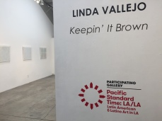 Linda Vallejo. Keepin' it Brown. Photo Courtesy of bG Gallery.