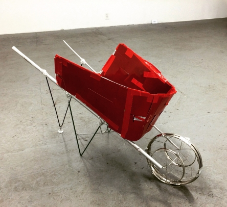 Kio Griffith. Red Wheelbarrow. Photo Courtesy of the Artist.