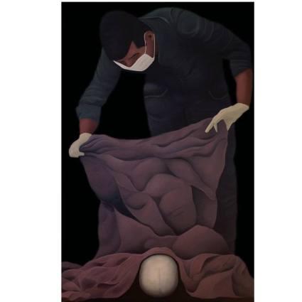 John Rosewall. Grip. Los Angeles Art Association/Gallery825. Photo Credit Kristine Schomaker