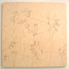 Brian Mallman, Still Connected. Open Mind Art Space. Photo Credit Lorraine Heitzman.