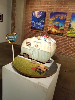 Pop-Surreal Playhouse. Artshare LA. Photo Credit Kristine Schomaker.