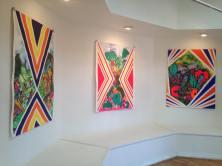 Installation view. TANKAH: De las Tinieblas Hacia el Sol/From The Underworld To The Sun. McNish Gallery at Oxnard College. Photo courtesy McNish Gallery
