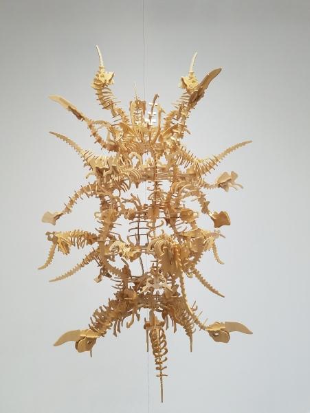 Ephraim Puusemp SEPULTURE-SCULPTURE I. Conceptual Craft at DENK Gallery. Photo Credit Jacqueline Bell Johnson.